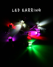 CROWN LED EARRING
